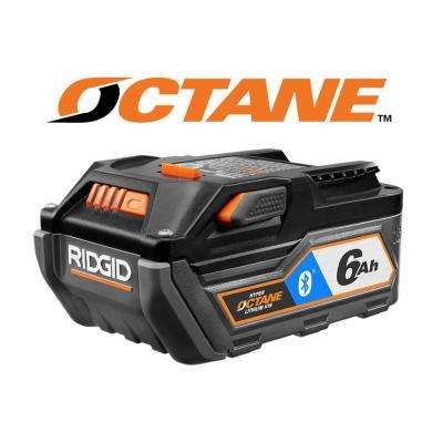 18-Volt OCTANE Bluetooth 6.0 Ah High Capacity Battery