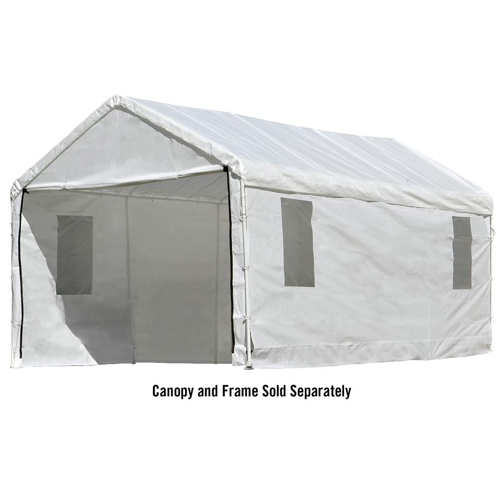 Enclosure Kit with Windows for Max AP 10 ft. x 20 ft. 1-  sc 1 st  The Home Depot & ShelterLogic - Parts u0026 Accessories - Canopies - The Home Depot