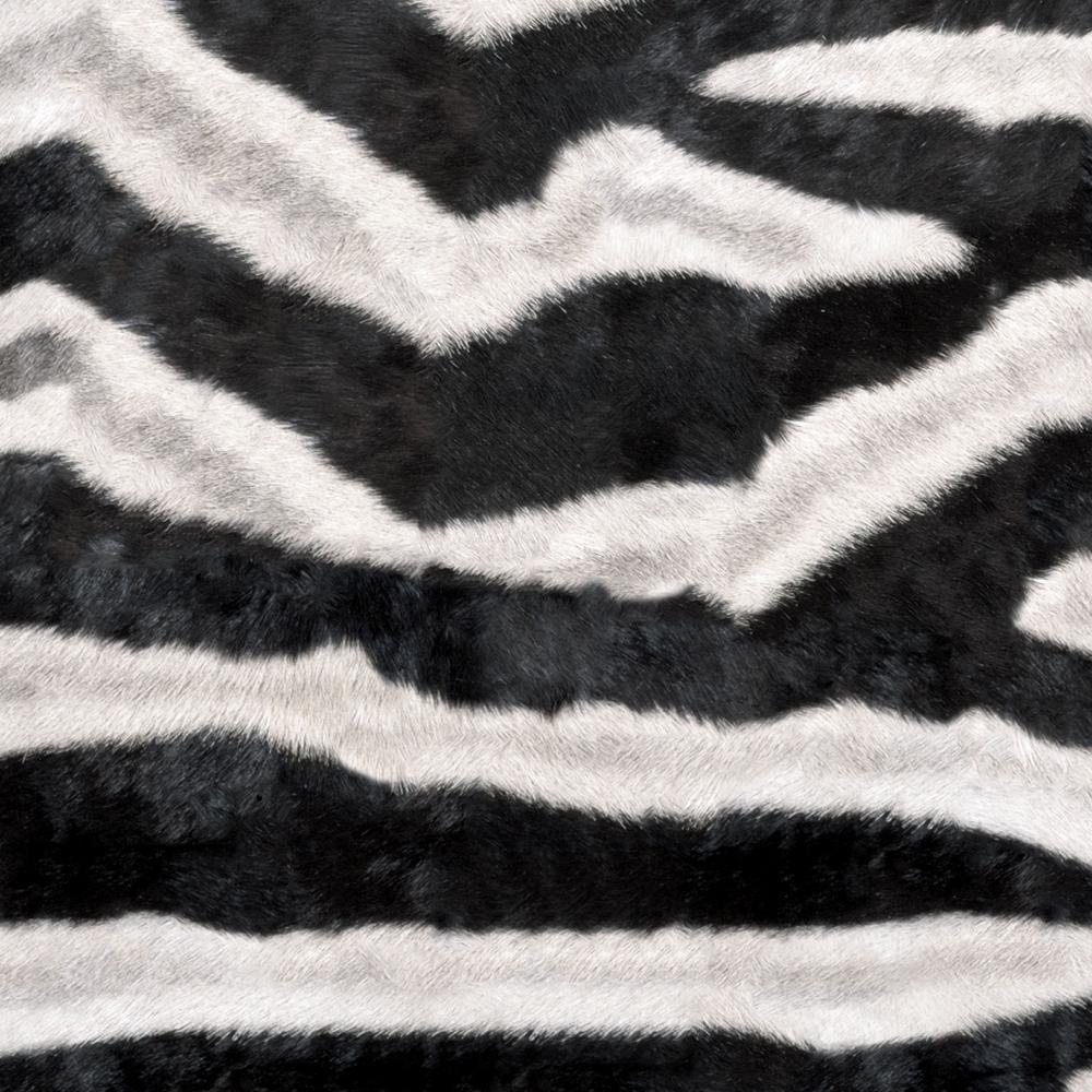 8 in. x 10 in. Laminate Sheet in Zebra with Virtual Design Matte Finish