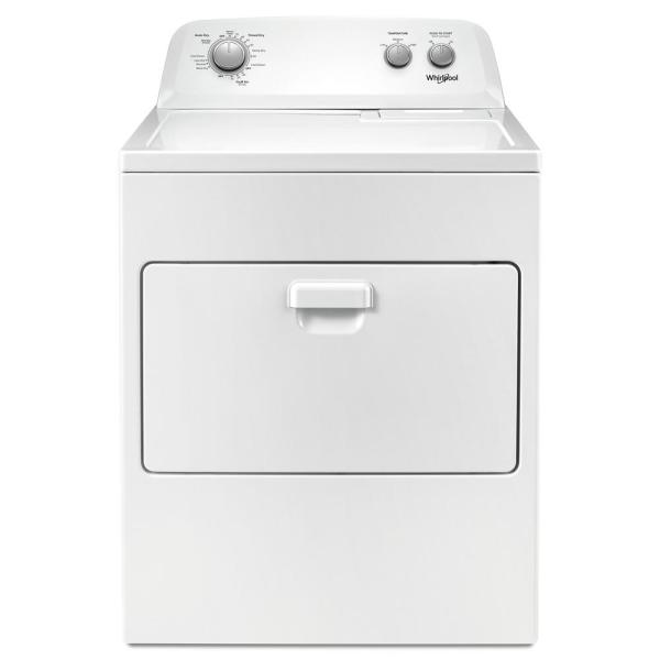 Whirlpool 7.0 cu. ft. 240-Volt White Electric Vented Dryer with AUTODRY  Drying System-WED4850HW - The Home Depot | Whirlpool Dryer Wiring Diagram 240 Vac |  | The Home Depot