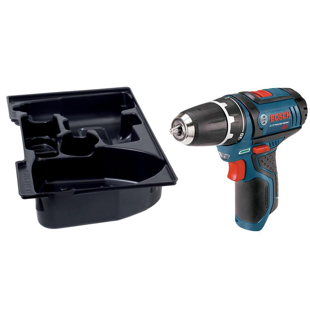 12 Volt Lithium-Ion Cordless 3/8 in. Variable Speed Drill/Driver with Exact-Fit
