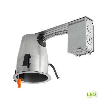 4 in. LED Recessed Housing Remodel Can