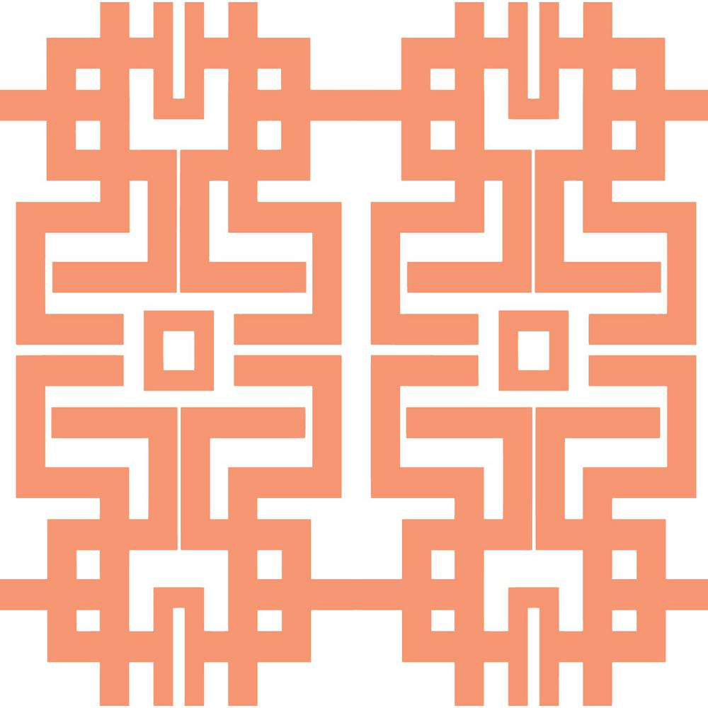 The Blush Label for Mitchell Black Collection Azteca in Coral Premium