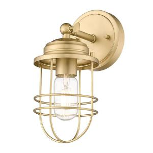 Seaport 4.63 in. Brushed Champagne Bronze Sconce