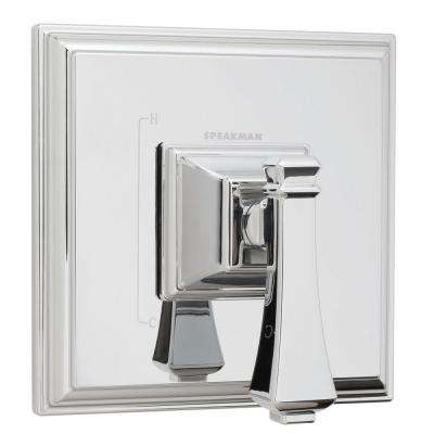 Rainier 1-Handle Pressure Balance Valve and Trim Kit in Polished Chrome