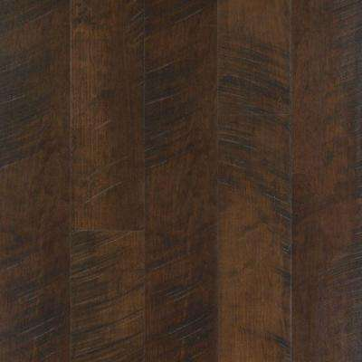 Outlast+ Molasses Maple Laminate Flooring - 5 in. x 7 in. Take Home Sample