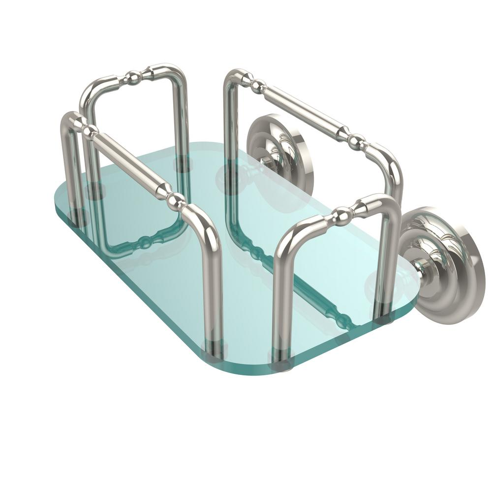 Allied Brass Que New Wall Mounted Guest Towel Holder in Polished ...