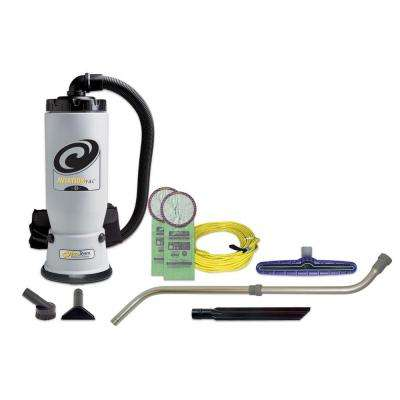 AviationVac 6 qt. Backpack Vac with Xover Multi-Surface Telescoping Wand Tool Kit