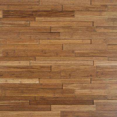 Take Home Sample - Deco Strips Harvest Engineered Hardwood Wall Strips - 5 in. x 7 in.