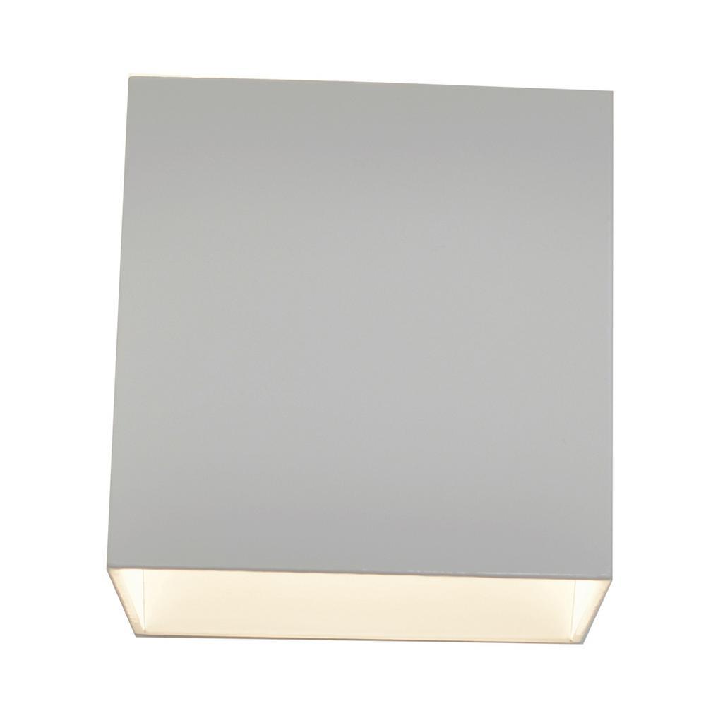 Zoes Kitchen Logo: AFX Zoe 9-Watt 120-Volt White Integrated LED Wall Mount