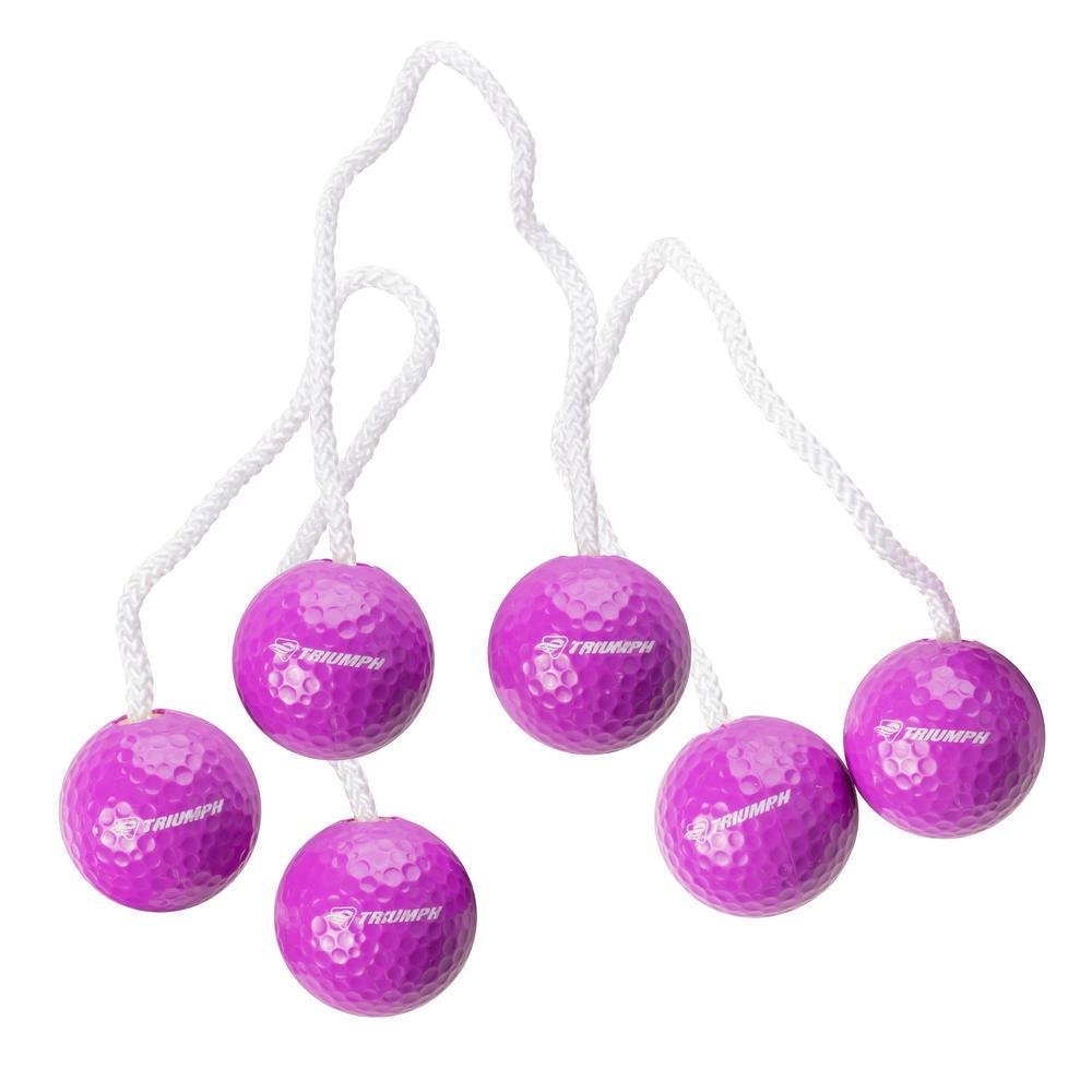 Purple Tournament Ladderball Bolas