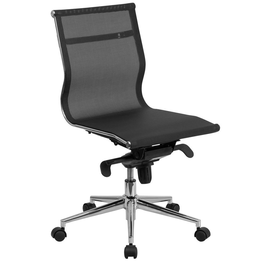 Flash Furniture Black Office/Desk Chair CGA-BT-24066-BL-HD