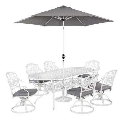 oval metal patio furniture cottage patio dining sets patio rh homedepot com  cottage style outdoor furniture