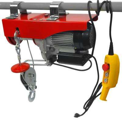 2000 lbs. Professional Electric Steel Cable Hoist with Remote Control