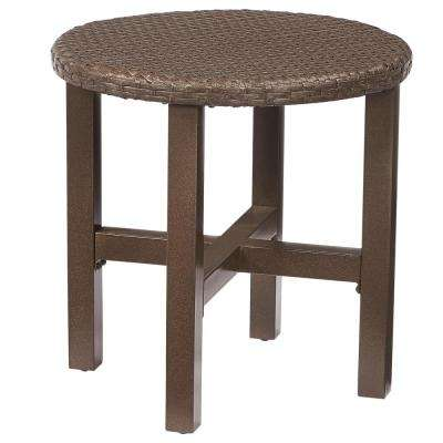 Torquay Wicker Outdoor Side Table