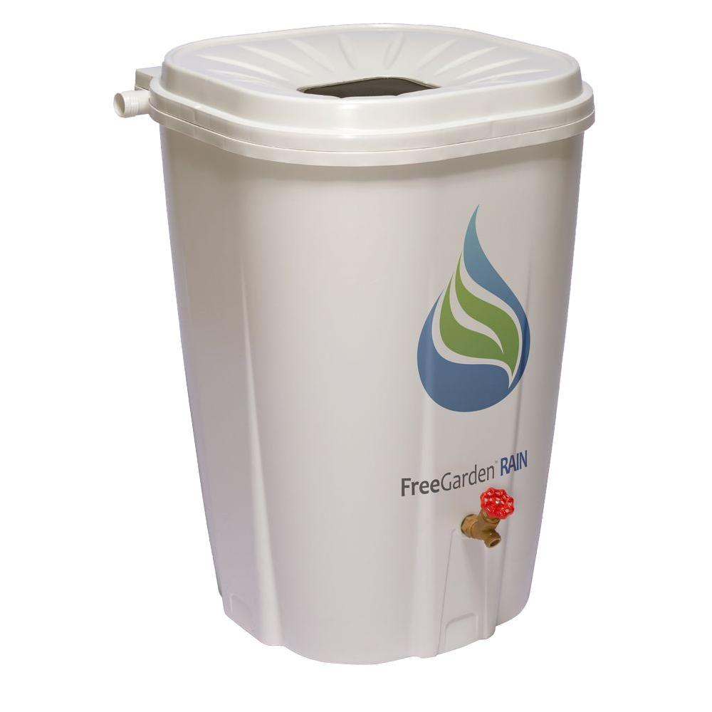 FreeGarden RAIN 55 Gal. Rain Barrel with Brass Spigot