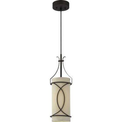 Giovanni 1-Light Antique Bronze Interior Pendant