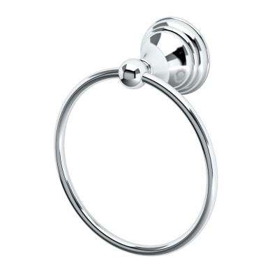 Charlotte Towel Ring in Chrome