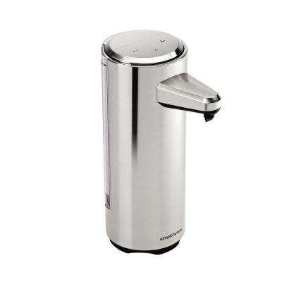 8 fl. oz. Rechargeable Sensor Soap Pump in Brushed Nickel
