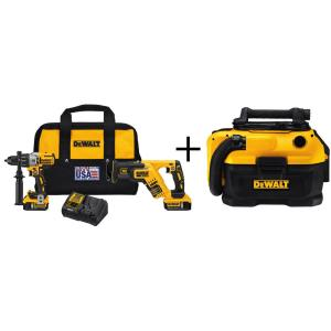 Dewalt 20-Volt MAX XR Lithium-Ion Cordless Brushless Premium Drill/Reciprocating Saw Combo Kit (2-Tool) with... by DEWALT