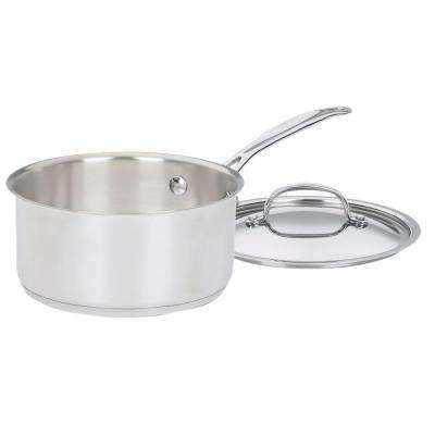 Chef's Classic 2 Qt. Stainless Steel Saucepan