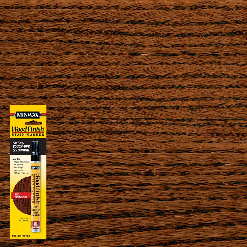 Minwax 1/3 oz. Wood Finish Red Mahogany Stain Marker
