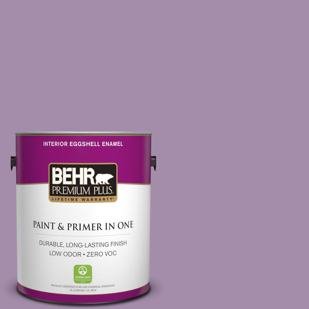 BEHR Premium Plus 1 gal. #M100-4 Aged to Perfection Eggshell Enamel Zero VOC Interior Paint and Primer in One