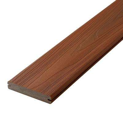 Horizon 1 in. x 5-1/4 in. x 12 ft. Ipe Grooved Edge Capped Composite Decking Board (56-Pack)