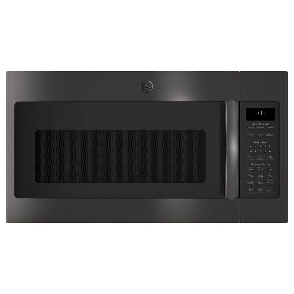 1.9 cu. ft. Over the Range Microwave in Black Stainless Steel