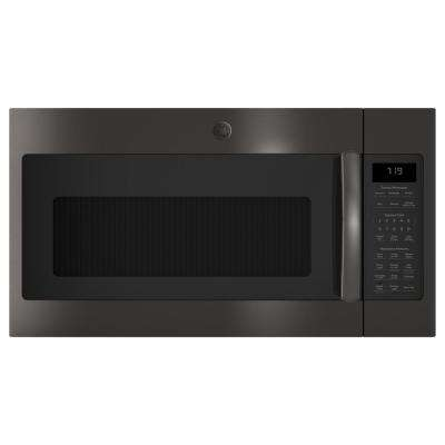 1.9 cu. ft. Over the Range Microwave in Black Stainless Steel with Sensor Cooking, Fingerprint Resistant