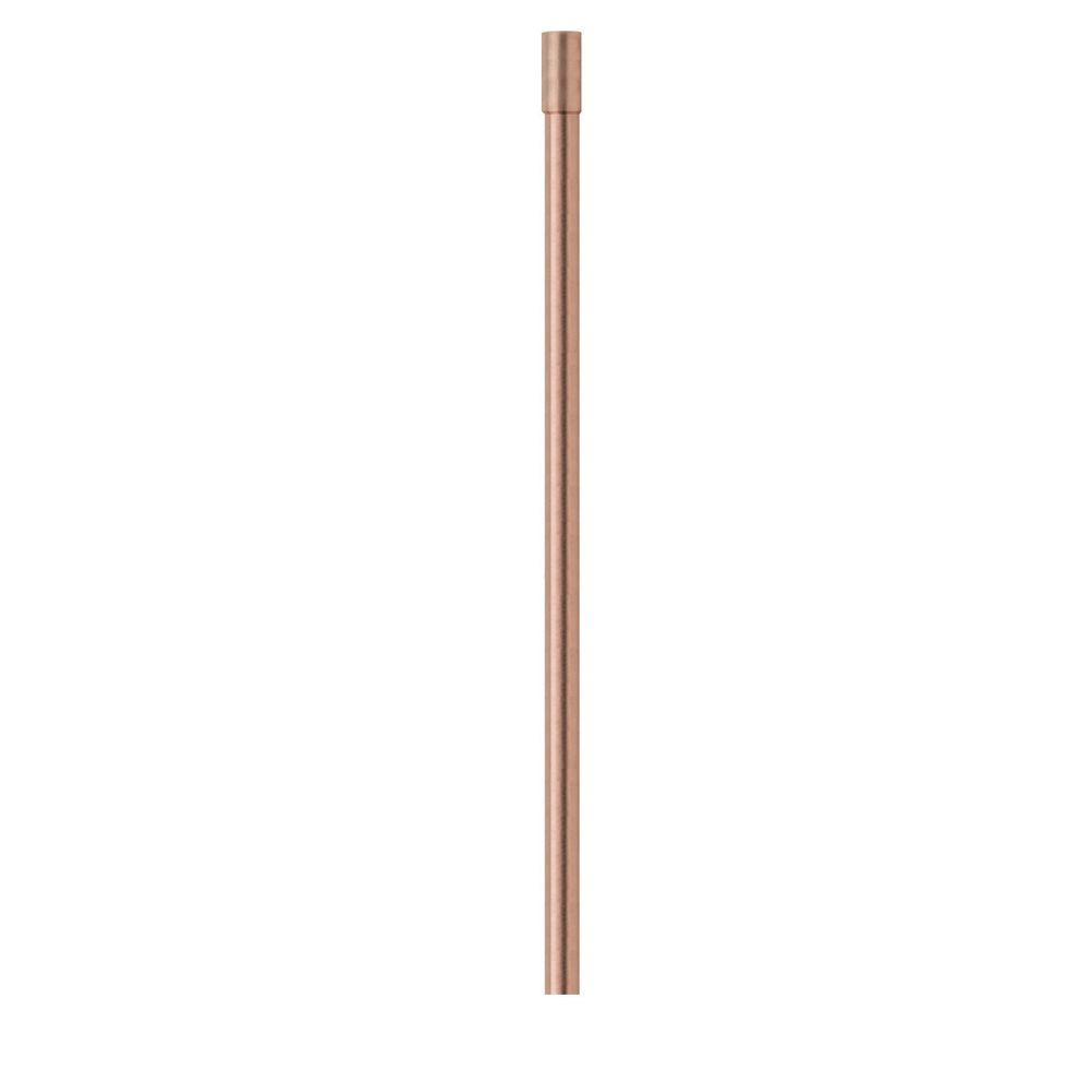 3/8 in. O.D. x 12 in. Copper Faucet Riser with Sweat