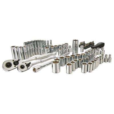 1/4 in. and 3/8 in. Socket Set (85-Piece)