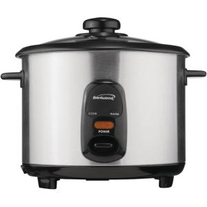 10-Cup Silver Rice Cooker