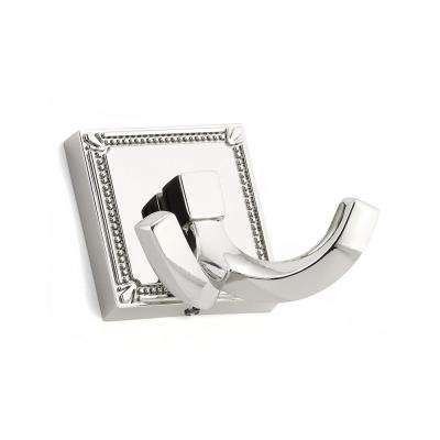 2-1/4 in. (57 mm) Polished Nickel Decorative Hook