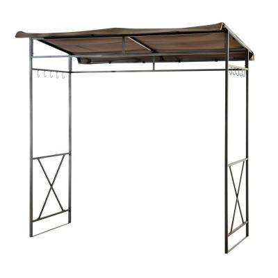 Linea 7 ft. x 4.6 ft. Soft Top Grill Gazebo