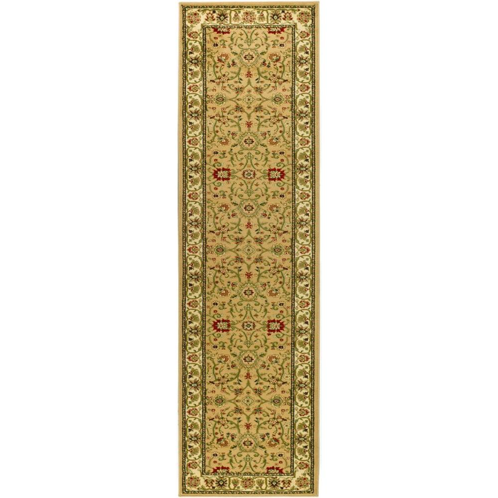 Lyndhurst Beige/Ivory 2 ft. 3 in. x 20 ft. Runner