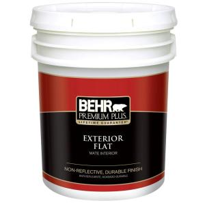 Delicieux Ultra Pure White Flat Exterior Paint And Primer In One. BEHR Premium Plus  ...