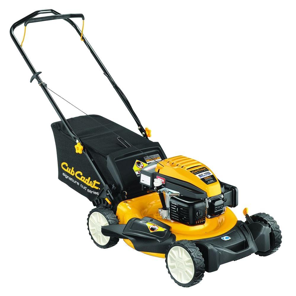 Cub Cadet SC100 21 in. 159 cc Gas Walk-Behind Lawn Mower