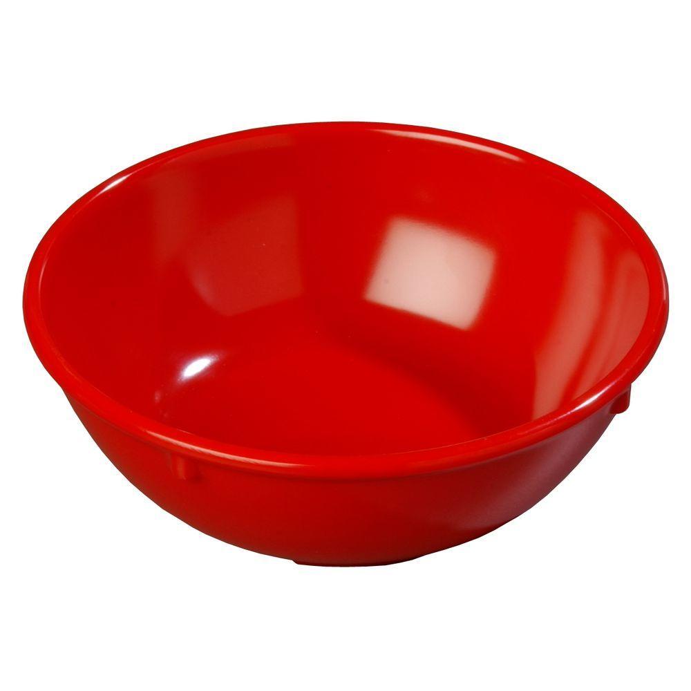 14 oz. Melamine Nappy Bowl in Red (Case of 48)
