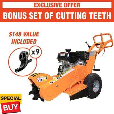 20 in. 14 HP Gas Powered Stump Grinder with Kohler Engine