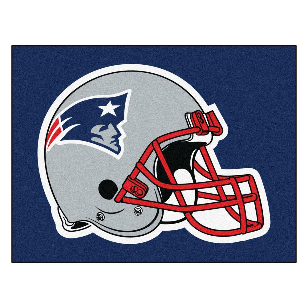 Fanmats New England Patriots 5 Ft X 6 Ft Tailgater Rug