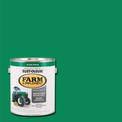 1 gal. Farm and Implement Oliver Green Paint (Case of 2)