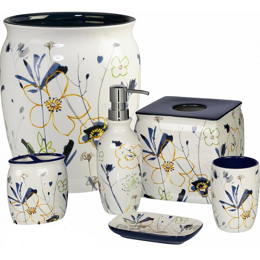 Primavera 6 Piece Ceramic Bath Accessory Set