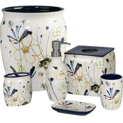 Primavera 6-Piece Ceramic Bath Accessory Set