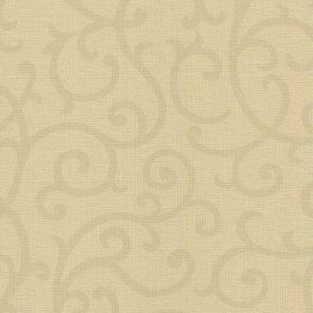 Silhouette Light Brown Vine Wallpaper