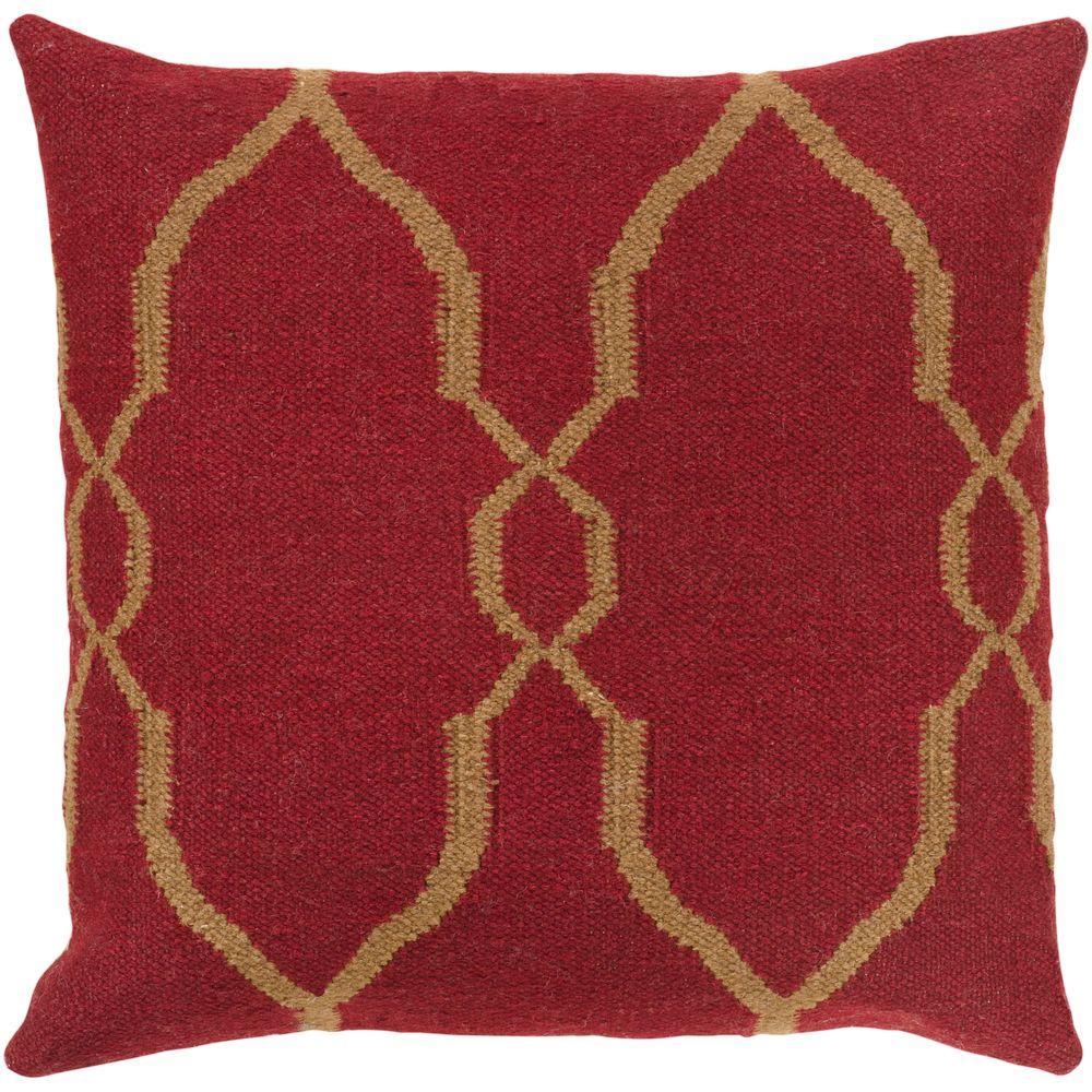 Artistic Weavers Lattice 20 in. x 20 in. Decorative Down Pillow-DISCONTINUED