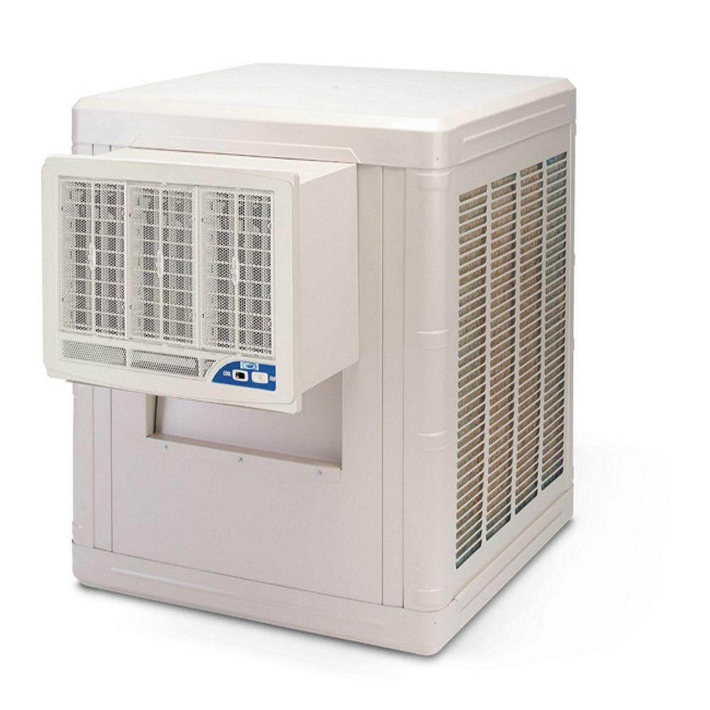 At Home Depot Evaporative Coolers : Brisa cfm speed front discharge window evaporative