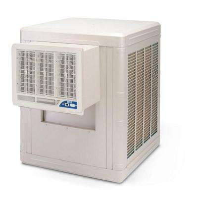 4000 CFM 2-Speed Front Discharge Window Evaporative Cooler for 1000 sq. ft. (with Motor)