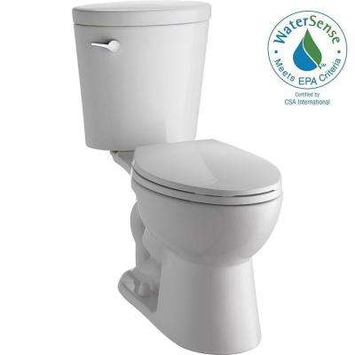 Corrente 2-piece 1.28 GPF Elongated Toilet in White