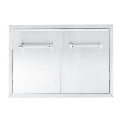 33 in. Outdoor Kitchen Built-In Grill Cabinet Double Access Door